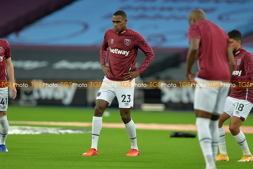 Issa Diop of West Ham United during West Ham United vs Newcastle United, Premier League Football at The London Stadium on 12th September 2020