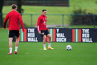 Connor Roberts of Wales in action during the Wales Training Session at The Vale Resort in Cardiff, Wales, UK. Monday 5 October 2020