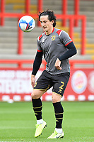 George Williams of MK Dons F.C. during Stevenage vs MK Dons, EFL Trophy Football at the Lamex Stadium on 6th October 2020
