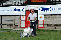 """Entertainer Max Boyce at the Glyn Neath rugby club ground. Thursday 24th Aug 2017<br /> <br /> <br /> Jeff Thomas Photography -  www.jaypics.photoshelter.com - <br /> e-mail swansea1001@hotmail.co.uk -<br /> Mob: 07837 386244 -<br /> <br /> Copyright of these pictures is owned by """"The Rugby Paper"""" and any use of these pictures is completely restricted."""