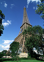 The Eiffel Tower. Paris, France.