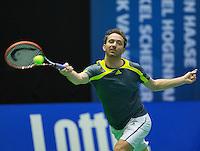 Rotterdam, Netherlands, December 20, 2015,  Topsport Centrum, Lotto NK Tennis, Final mens single Matwe Middelkoop (NED)<br /> Photo: Tennisimages/Henk Koster