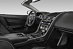 Passenger side dashboard view of a 2007 - 2012 Aston Martin DBS Volante Convertible.