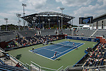 Top ranking players visit the US open during the kids day