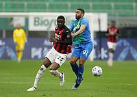 Milano  21-04-2021<br /> Stadio Giuseppe Meazza<br /> Serie A  Tim 2020/21<br /> Milan - Sassuolo<br /> Nella foto:  Fikayo Tomori                                    <br /> Antonio Saia Kines Milano
