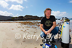 Caherdaniel's answer to David Attenborough, Vincent Hyland has compiled a SCUBA Trail around Carrigycrone(St Crohan's Rock) at Derrynane Beach, the first of its kind in Ireland.