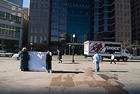 Pro-Life advocates display signs as theystand on the sidewalk at a rally at the Statehouse in Columbus, Ohio, Monday, Nov. 23, 2006, on the 33rd anniversary of the Supreme Court Roe v. Wade decision.<br />