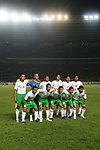 Players of Indonesia Team line up and pose for a photo prior to their AFF Suzuki Cup 2008 Group A match between Cambodia and Indonesia at Gelora Bung Karno Stadium on 07 December 2008, in Jakarta, Indonesia. Photo by Stringer / Lagardere Sports