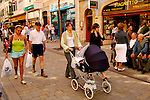 Mainstreet, Gibraltar, Spanien, Grossbritannien, Costa del Sol, Europe, Geography, Great Britain, Spain, España, Geografia, inglaterra, Andalucia, Andalusien, Andalusia