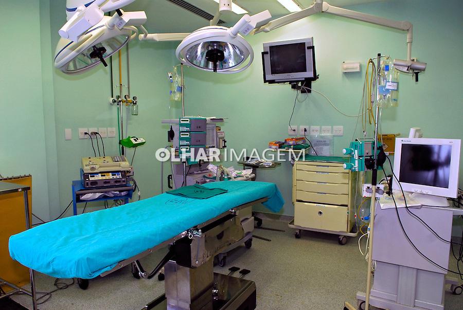 Centro Cirurgico do Instituto Nacional de Cardiologia. Rio de Janeiro. 2008. Foto de Luciana Whitaker.