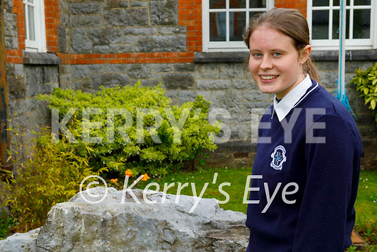 Presentation Castleisland student Hillary O'Connor received one of the highest grades in Ireland in her Junior Cycle Business exam in 2019 and recently received an award from the University of Limerick.
