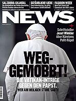 News Austrian Magazine Pope Benedict XVI Photograph by Stefano Spaziani