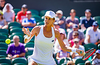 London, England, 2 th July, 2018, Tennis,  Wimbledon, Varvara Lepchenko (USA)<br /> Photo: Henk Koster/tennisimages.com