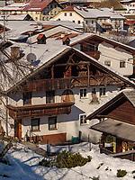 Bauernhaus in Tarrenz, Gurgltal Bezirk Imst, Tirol, Österreich, Europa<br /> farmhouse in Tarrenz, district Imst, Tyrol, Austria, Europe