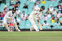 8th January 2021; Sydney Cricket Ground, Sydney, New South Wales, Australia; International Test Cricket, Third Test Day Two, Australia versus India; Matthew Wade of Australia batting