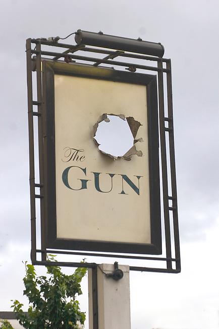 Exterior, Gun Restaurant, East London, London, Great Britain, Europe