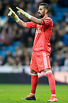 Real Madrid's Kiko Casilla during La Liga match. November 5,2017. (ALTERPHOTOS/Acero)