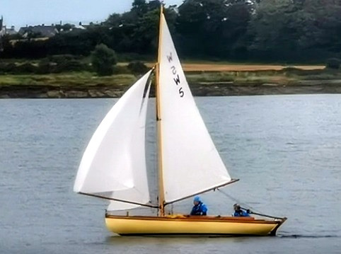 The restored Belfast Lough Waverley is involved in the class's trial move for a season to Strangford Lough