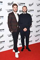 Lukas Dhont and Francis Lee<br /> arriving for the London Film Festival Awards, Vue Leicester Square, London<br /> <br /> ©Ash Knotek  D3452  20/10/2018