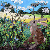 Simon, REALISTIC ANIMALS, REALISTISCHE TIERE, ANIMALES REALISTICOS, innovative, paintings+++++KateFindlay_ButtercupHare,GBWR158,#a#, EVERYDAY,rabbit