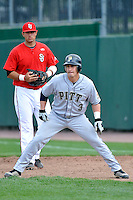 Pittsburgh Panthers outfielder Sean Toole (3) during game against St.John's Red Storm at Jack Kaiser Stadium in Queens, New York;  May 7, 2011.  St. John's defeated Pittsburgh 7-0.  Photo By Tomasso DeRosa/Four Seam Images