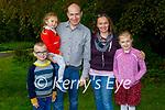 The O'Sullivan family enjoying a stroll in Muckross Gardens in Killarney on Sunday, l to r: Liam, Amy, Danny, Daniella and Lynn O'Sullivan.
