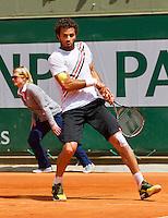 02-06-13, Tennis, France, Paris, Roland Garros,  Jean-Julien Rojer