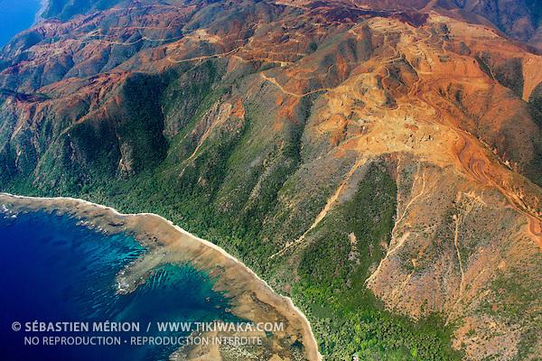 Mine de nickel de Nakéty, côte Est, Nouvelle-Calédonie