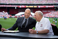 Kasey Keller, Walter Bahr.  The USMNT defeated Germany, 4-3, in a friendly match held at RFK Stadium in Washington, DC.