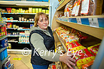 Kay Griffin who works at C Healys shop in New STreet, Killarney.