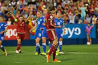 Spain's Irene Paredes during the match of  European Women's Championship 2017 at Leganes, between Spain and Finland. September 20, 2016. (ALTERPHOTOS/Rodrigo Jimenez) NORTEPHOTO