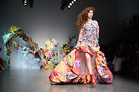 Models on Catwalk<br /> at the Fyodor Golan London Fashion Week SS18 catwalk show, London<br /> <br /> ©Ash Knotek  D3431  14/09/2018