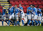 St Johnstone v Inverness Caley Thistle…03.12.16   McDiarmid Park..     SPFL<br />Murray Davidson celebrates his goal<br />Picture by Graeme Hart.<br />Copyright Perthshire Picture Agency<br />Tel: 01738 623350  Mobile: 07990 594431