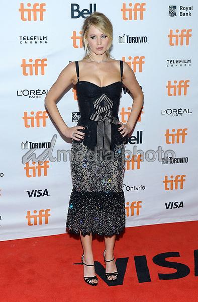 "10 September 2017 - Toronto, Ontario Canada - Jennifer Lawrence. 2017 Toronto International Film Festival - ""mother!"" Premiere held at TIFF Bell Lightbox. Photo Credit: Brent Perniac/AdMedia"