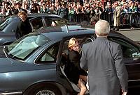 Funerailles de Robert Bourassa, 20 octobre 1996<br /> <br /> PHOTO :  Agence Quebec presse