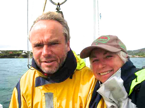 The good shepherds…Alex and Daria Blackwell of the Ocean Cruising Club provided an invaluable service for voyagers caught at sea as the pandemic lockdowns closed in.