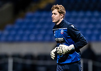 Bolton Wanderers' Matt Alexander warming up before the match <br /> <br /> Photographer Andrew Kearns/CameraSport<br /> <br /> The EFL Sky Bet League Two - Bolton Wanderers v Mansfield Town - Tuesday 3rd November 2020 - University of Bolton Stadium - Bolton<br /> <br /> World Copyright © 2020 CameraSport. All rights reserved. 43 Linden Ave. Countesthorpe. Leicester. England. LE8 5PG - Tel: +44 (0) 116 277 4147 - admin@camerasport.com - www.camerasport.com