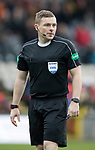 Partick Thistle v St Johnstone…28.10.17…  Firhill…  SPFL<br />Referee John Beaton<br />Picture by Graeme Hart. <br />Copyright Perthshire Picture Agency<br />Tel: 01738 623350  Mobile: 07990 594431
