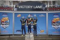 #84: Atlanta Speedwerks Honda Civic FK7 TCR, TCR: Brian Henderson, Robert Noaker, podium, winner, victory lane, #94: Atlanta Speedwerks Honda Civic FK7 TCR, TCR: Scott Smithson