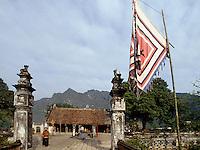Binh Dinh-Tempel in Hoa Lu bei Ninh Binh, Vietnam