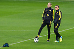 Borussia Dortmund's coach Thomas Tuchel during official training of Borussia Dortmund before the Champions League match between Real Madrid and Borussia Dortmund at Santiago Bernabeu Stadium in Madrid, Spain. December 06, 2016. (ALTERPHOTOS/BorjaB.Hojas)