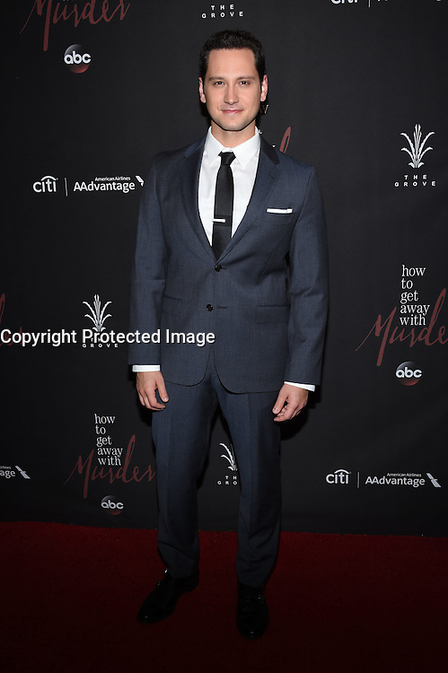 Matt McGorry @ the 'How To Get Away With Murder' Season 3 Premiere held @ the Grove Pacific theatre. September 20, 2016