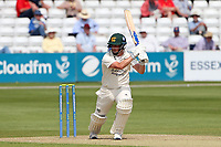 Steven Mullaney hits 4 runs for Nottinghamshire during Essex CCC vs Nottinghamshire CCC, LV Insurance County Championship Group 1 Cricket at The Cloudfm County Ground on 3rd June 2021