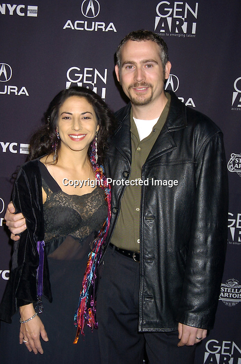 """Susan Kraker and Pi Ware....at The Gen Art Film Festival Opening Night premiere of Kevin Bacon's """"Loverboy"""" on April 6, 2005 at the Ziegfeld ..Theatre. ..Photo by Robin Platzer, Twin Images"""