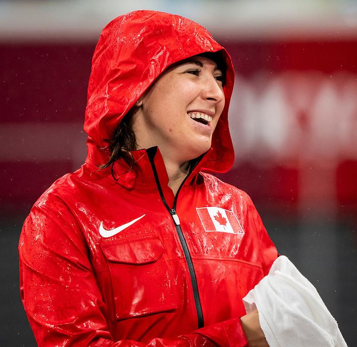 Renee Foessel, Tokyo 2020  -  <br /> Para Athletics // Para-athlétisme.<br /> Renee Foessel competes in the women's discus throw F38 final // Renee Foessel participe à la finale féminine du lancer du disque F38. 04/09/2021.