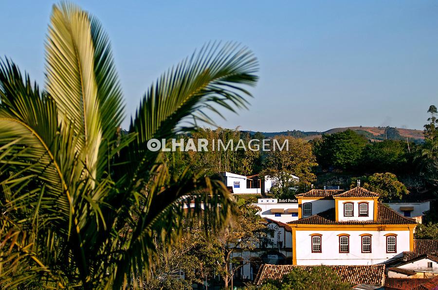 Casas de arquitetura colonial na cidade de Tiradentes. Minas Gerais. 2012. Foto de Cris Berger.