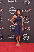 LOS ANGELES, USA. July 10, 2019: Laila Ali at the 2019 ESPY Awards at the Microsoft Theatre LA Live.<br /> Picture: Paul Smith/Featureflash