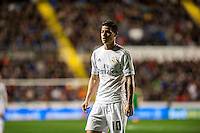 VALENCIA, SPAIN - MARCH 2: James during BBVA League match between VLevante U.D. and R. Madrid at Ciudad de Valencia Stadium on March 2, 2015 in Valencia, Spain