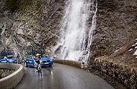 Brent Bookwalter (USA/BikeExchange) up the Cormet de Roselend (2cat/1968m/5.7km@6.5%)<br /> <br /> 73rd Critérium du Dauphiné 2021 (2.UWT)<br /> Stage 7 from Saint-Martin-le-Vinoux to La Plagne (171km)<br /> <br /> ©kramon