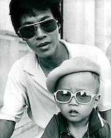 Vater und Sohn, Vietnam 1991